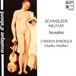 Sonatas by Muffat and Schmelzer (CD)