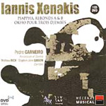 Xenakis: Okho; Psappha; Rebonds A & B (CD)