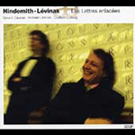 Hindemth; Levinas: Works for Piano and Viola (CD)