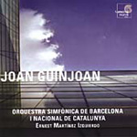 Guinjoan: Clarinet Concerto; Piano Concerto No 1 (CD)