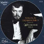 Nikolai Demidenko Live at Wigmore Hall (CD)