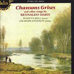 Hahn: Chansons Grises etc (CD)