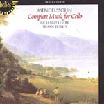 Mendelssohn: Music for Cello and Piano (CD)