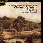 Somervell; Jacob: Clarinet Quintets (CD)