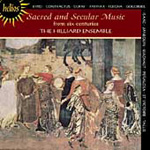 Sacred and Secular Music from Six Centuries (CD)