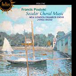 Poulenc: Secular Choral Works (CD)