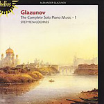Glazunov: Piano Works, Vol. 1 (CD)