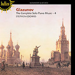 Glazunov: The Complete Solo Piano Music, Vol 4 (CD)