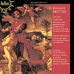 Britten: The Five Canticles (CD)