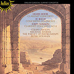 English Classical Clarinet Concertos (CD)