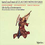 Monteverdi: Sacred vocal works (CD)