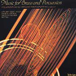 Music for Brass and Percussion (CD)