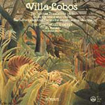 Villa-Lobos: Works for Voice and Strings (CD)