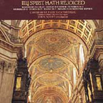 My Spirit Hath Rejoiced: Settings of Magnificat & Nunc Dimittis (CD)