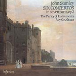 Stanley: 6 Concertos in 7 parts (CD)