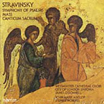 Stravinsky: Sacred Choral Works (CD)