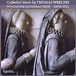 Weelkes: Cathedral Music (CD)