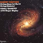 Simpson: String Quartet & Quintet (CD)