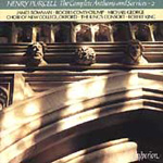 Purcell: Complete Anthems & Services, Vol.2 (CD)