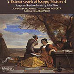 Blow: Fairest work of happy Nature (CD)