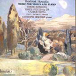 Howells: Music for Violin and Piano (CD)