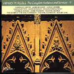Purcell: Complete Anthems and Services, Volume 9 (CD)