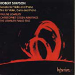 Simpson: Chamber Works (CD)