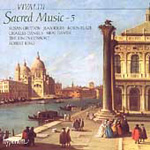 Vivaldi - Sacred Music, Volume 5 (CD)