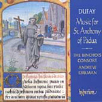 Dufay: Music for St Anthony of Padua (CD)