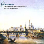 Glazunov: Piano Works, Vol. 3 (CD)