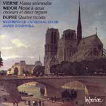 Vierne/Widor/Dupré: Masses and Motets (CD)