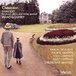 Chausson: Concert & Piano Quartet (CD)