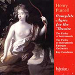 Purcell: Complete Ayres for the Theatre (CD)