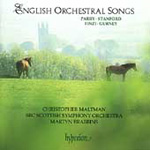 English Orchestral Songs (CD)