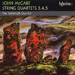 McCabe: Strings Quartets Nos 3-5 (CD)