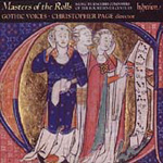 Masters of the Rolls - English Composers of the 14th Century (CD)