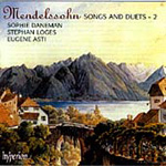 Mendelssohn: Songs and Duets, Vol. 2 (CD)