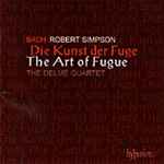 Bach/Simpson: The Art of Fugue (CD)