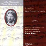 Busoni: Piano Concerto (CD)