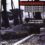 Shostakovich: String Quartets Nos 4, 6 & 8 (CD)
