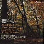 Boughton: Flute Concerto. Aylesbury Games etc (CD)
