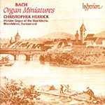 Bach: Organ Miniatures (CD)