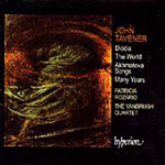 Tavener: Works for soprano and string quartet (CD)