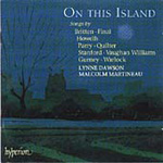 On This Island (CD)