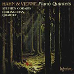 Hahn/Vierne: Piano Quintets (CD)