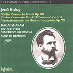 Hubay: Violin Concertos Nos 3 and 4 (CD)