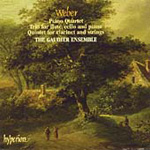 Weber: Clarinet Quintet; Piano Quartet; Trio (CD)