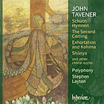Tavener: New Choral Works (CD)