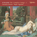 Strauss: The Complete Songs, Vol 1 (CD)