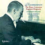 Rachmaninov: Piano Concertos; Rhapsody on a Theme of Paganini (CD)